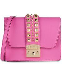 Valentino By Mario Valentino Benedicte Rockstud Leather Crossbody Bag - Pink