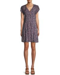Velvet Kirstan Azalea Mini Dress - Purple