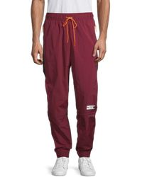 PUMA Men's Parquet Track Pants - Red - Size Xxl