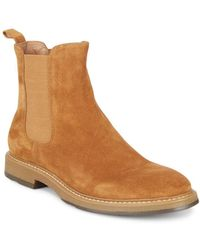 Saks Fifth Avenue - Roma Suede Chelsea Boots - Lyst