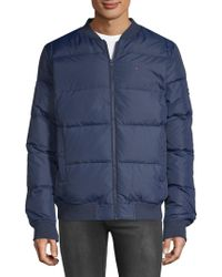 Tommy Hilfiger - Basic Down Bomber Jacket - Lyst