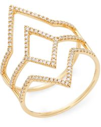 Saks Fifth Avenue Cubic Zirconia Wrap-around Choker - Multicolour