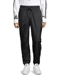 Fila Relaxed Nylon Jogging Trousers - Black