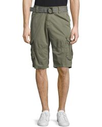 Xray Jeans - Camo-printed Cotton Shorts - Lyst