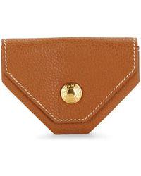 Hermès Vintage Clemence Leather Le 24 Change Pouch - Brown