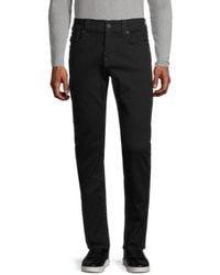 True Religion Men's Rocco Relaxed-fit Skinny Jeans - Black - Size 31