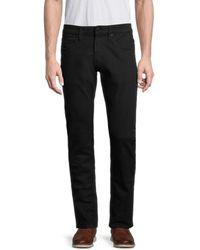 Buffalo David Bitton Ash-x Slim Stretch-fit Jeans - Black