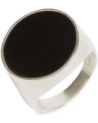 Maison Margiela - Thick Silver Ring - Lyst