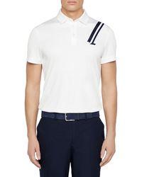 J.Lindeberg Phoenix Regular-fit Polo - White