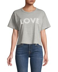 Rebecca Minkoff Cropped Top - Gray