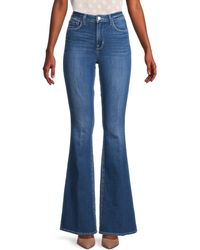 L'Agence Bell High-rise Flare Jeans - Blue