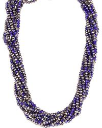 Saachi - Multi-strand Short Bead Necklace - Lyst