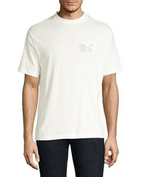 Y-3 Logo Short Sleeve Tee - White