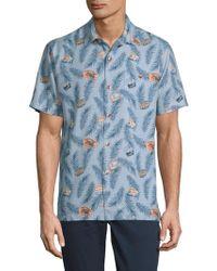 Tommy Bahama - Destination California Silk Button-down Shirt - Lyst