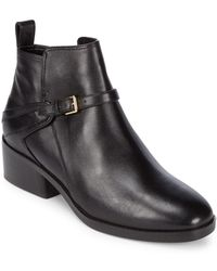 Cole Haan - Etta Leather Booties - Lyst