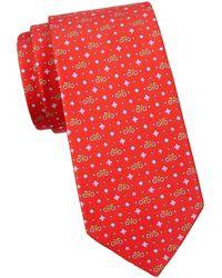Ferragamo Silk Tie - Multicolour