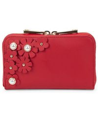 Zac Zac Posen - Floral Leather Continental Wallet - Lyst