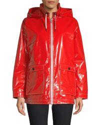 Jane Post Women's Hamptons Lightweight Raincoat - Black - Size M