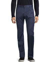 BOSS by Hugo Boss Regular-fit Stretch Trousers - Blue