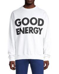Moschino ! Good Energy Sweatshirt - White