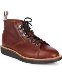 Dr. Martens - Lesley Leather Hiker Boots - Lyst