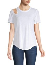 Chaser - Cutout Tee - Lyst