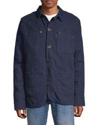 Hilfiger Denim - Layered Cotton Field Jacket - Lyst