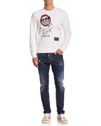 Viktor & Rolf - Cool Guy Distressed Jeans - Lyst