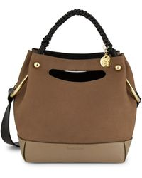 See By Chloé Mini Maddy Leather Hobo Bag - Multicolour
