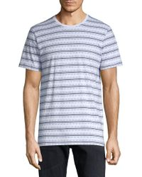 Sovereign Code - Antonis Striped Cotton Tee - Lyst