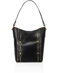 Frye - Harness Studded Leather Hobo Bag - Lyst