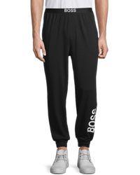 BOSS by HUGO BOSS Idetity Logo Lounge Pants - Black