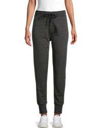 Marc New York Heathered Jogger Trousers - Grey