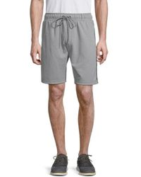 Standard Issue French Terry Space-dye Shorts - Grey