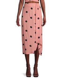 BB Dakota Naturally Dotty Skirt - Pink