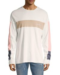 Barney Cools - Long-sleeve Logo Cotton T-shirt - Lyst