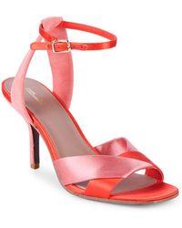 Diane von Furstenberg - Fiona Ankle-strap Sandals - Lyst