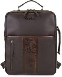 Robert Graham Marlo Leather Backpack - Brown