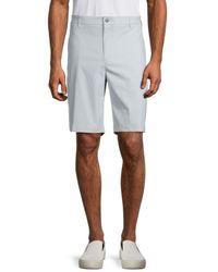 Original Penguin Men's Slim-fit Golf Shorts - Pearl Blue - Size 40