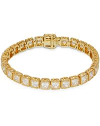 Judith Ripka Goldplated Sterling Silver & Cubic Zirconia Tennis Bracelet - Multicolour