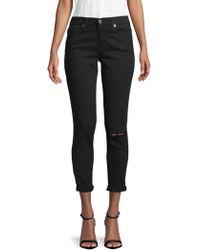 Genetic Denim Naomi High Waist Ankle Jeans - Black