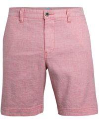 Tommy Bahama Beach Regular-fit Linen-blend Shorts - Pink