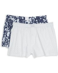 Michael Kors - Two-pack Woven Boxers - Lyst