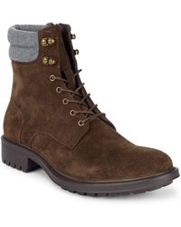 Saks Fifth Avenue - Campilio Lace-up Boots - Lyst