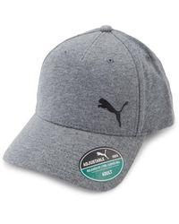 PUMA Cotton Baseball Cap - Gray