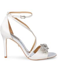 Badgley Mischka Vanessa Embellished Sandals - Multicolour
