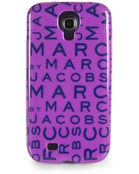 Marc By Marc Jacobs Jumble Logo Case For Samsung Galaxy S4 - Purple