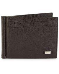 Bally Leather Bi-fold Wallet - Brown