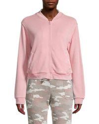 Kensie Bomber Jacket - Pink