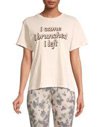 Wildfox Women's I Brunched T-shirt - Salt - Size L - White